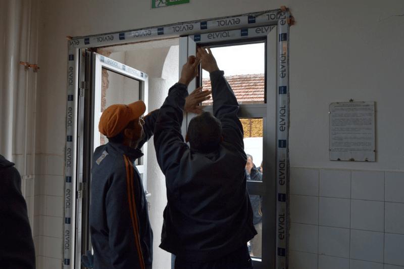 Zamena stolarije na školi u Manojlovcu