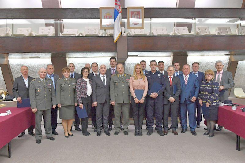 Leskovcu zahvalinica od Ministarstva odbrane