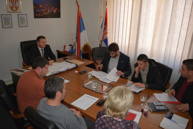 Predstavnici Ministarstva omladine i sporta u Medveđi