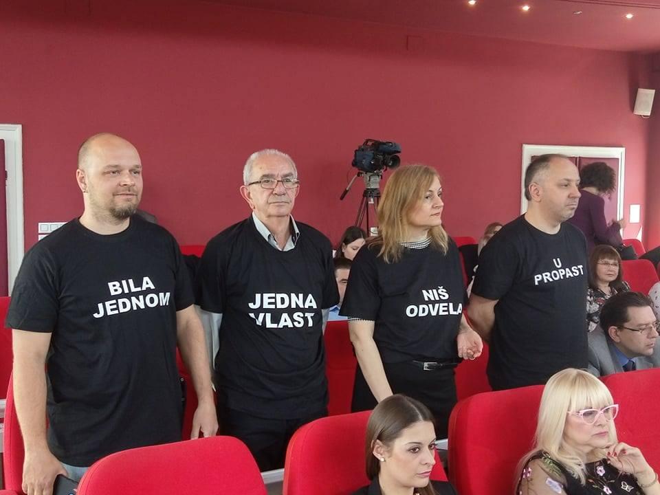 Odbornici niške opozicije napustili sedincu Skupštine grada