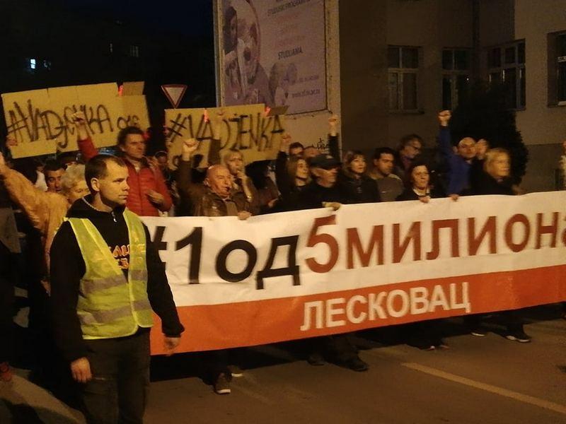Neizvestan ishod protesta u Srbiji