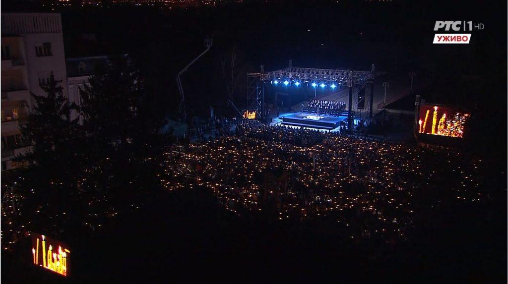 Zvuci sirene, sveće i suze u Nišu na početku obeležavanja 20 godina od NATO agresije