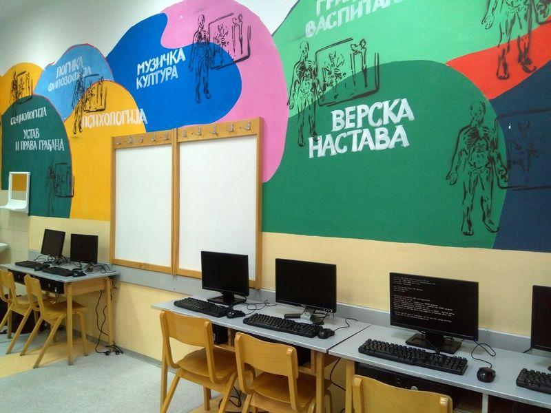 Otvoren Savremeni kutak u Gimnaziji