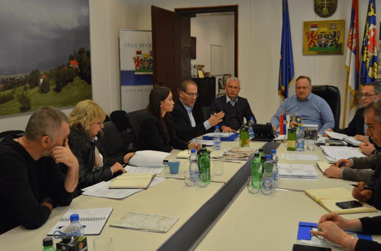 Cvetanović sa direktorom Srbija vode o izgradnji kanala Tulovske reke