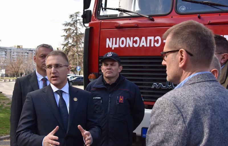 Nova vozila i za leskovačke vatrogasce od MUP-a