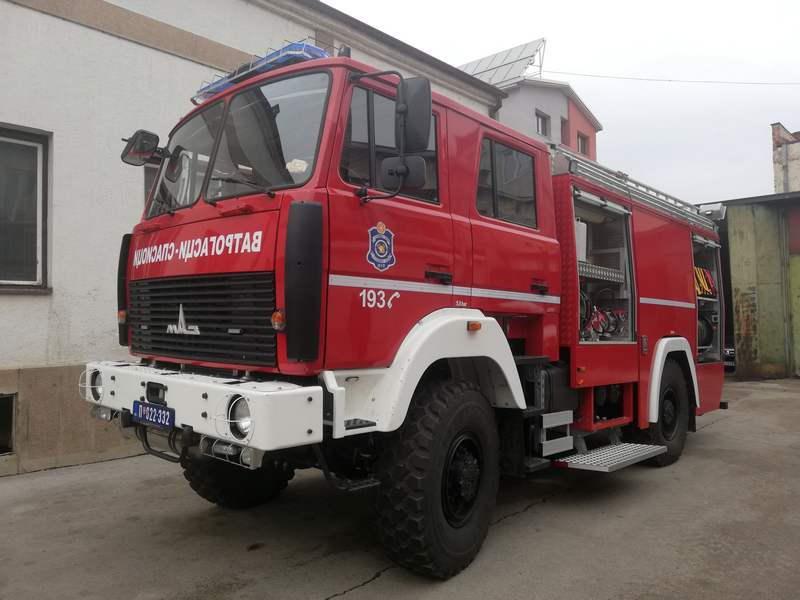 Novo vatrogasno vozilo stiglo u Leskovac