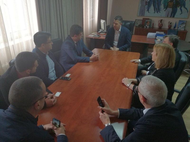 Delegacija skopske opštine Đorče Petrov u poseti Pirotu