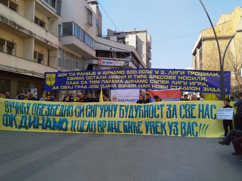 Protest zbog para: Dinamo traži pomoć Vučića za rešavanje finansijskih problema