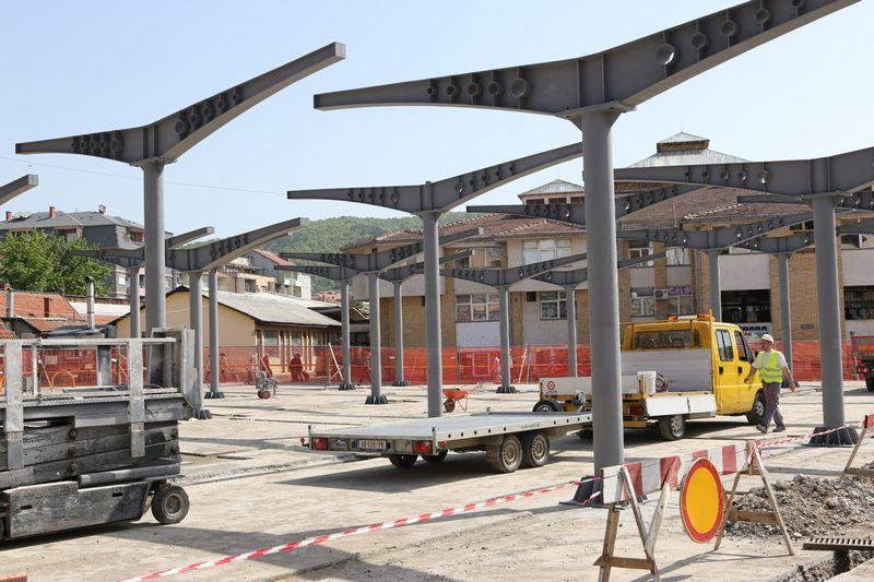 Rekonstrukcija zelene pijace u Aleksincu uz podršku Evropske unije