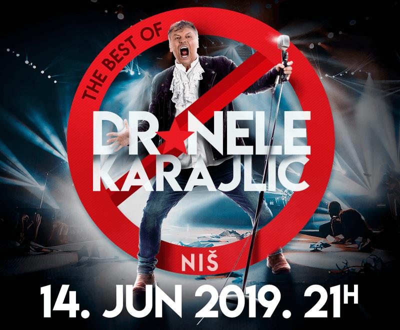 Dr Nele Karajlić u Nišu nakon više od 20 godina