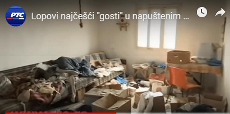 Albanci sa Kosova obijaju kuće, pljačkaju i  bespravno seku šume na napuštenim srpskim imanjima