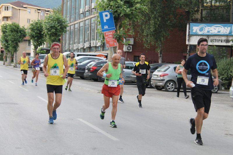 Pripreme i treninzi građana za treći Vranjski polumaraton