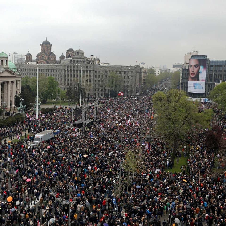DAN D ILI JEDAN OD MILION PROTESTA?