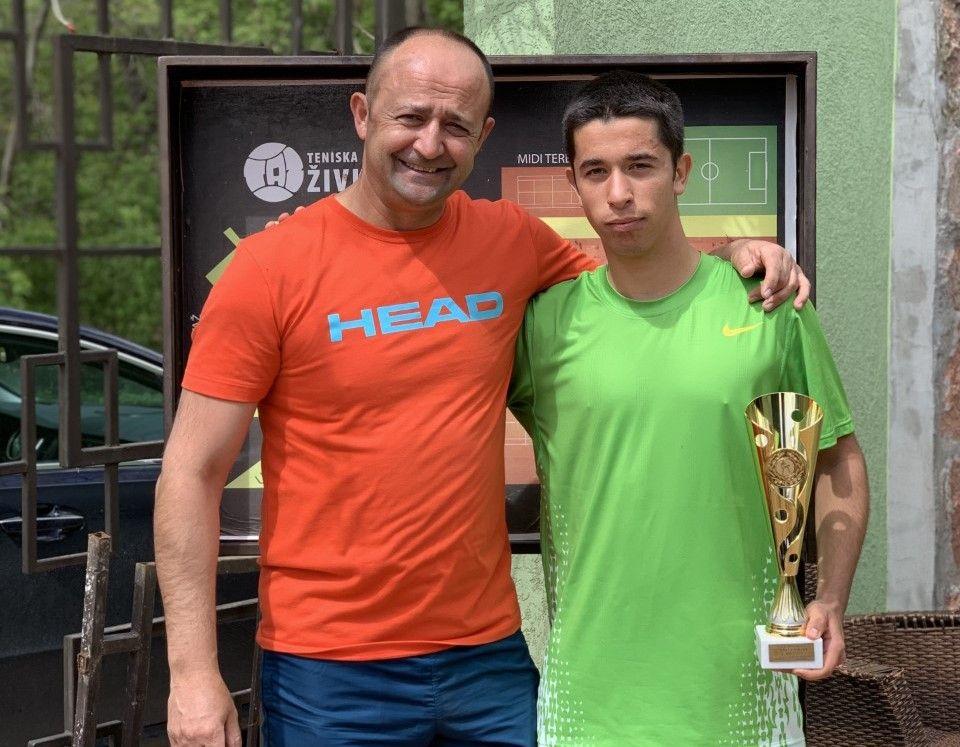 Luka Stefanović prvi na Otvorenom prvenstvu Niša u tenisu