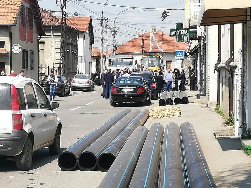 I ulica Ivana Milutinovića dobija novu vodovodnu mrežu