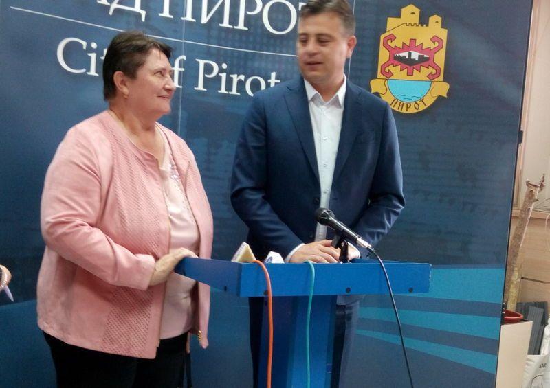 Ambasadorka Slovačke  Dagmar Repčekova posetila Pirot