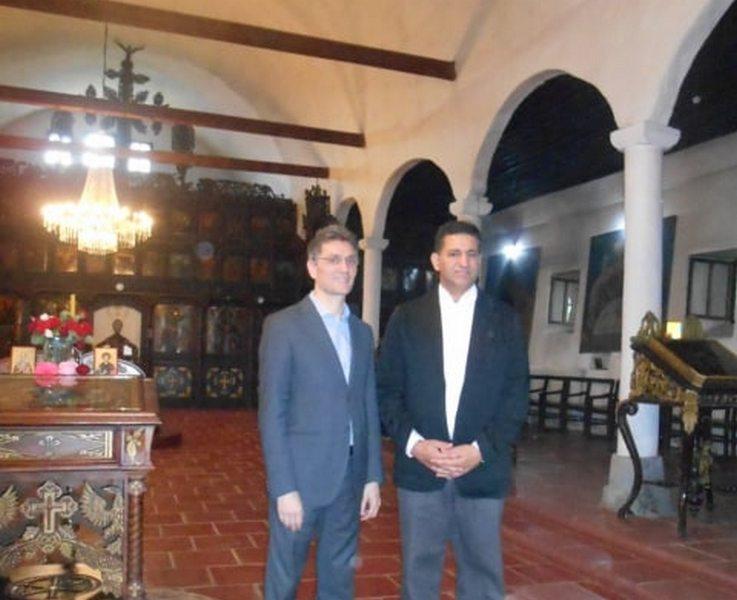 Ambasadori Egipta i Maroka obišli crkvu Odžakliju i Caričin grad