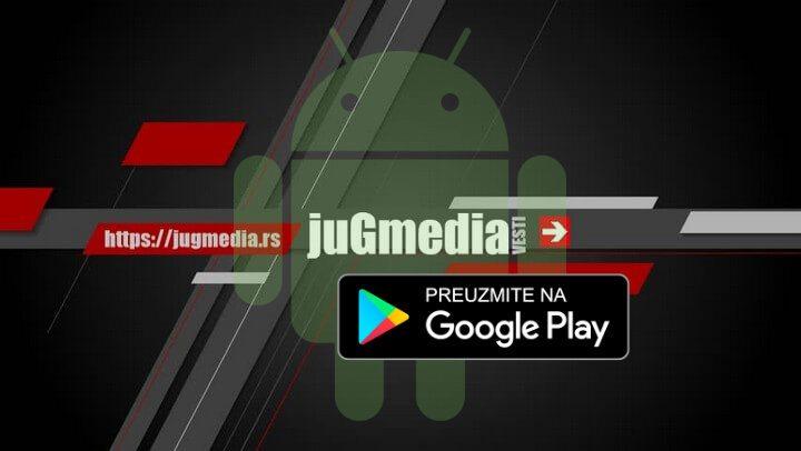 Nova android aplikacija juGmedie za vaše telefone
