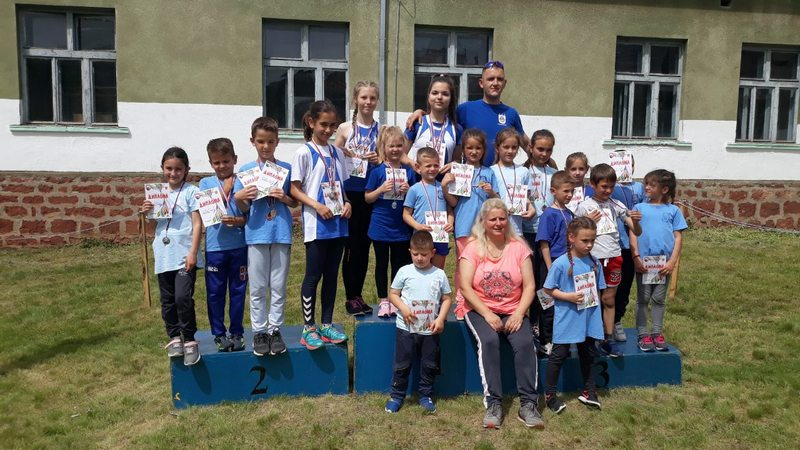 Atletski klub Leskovac osvojio 21 medalju