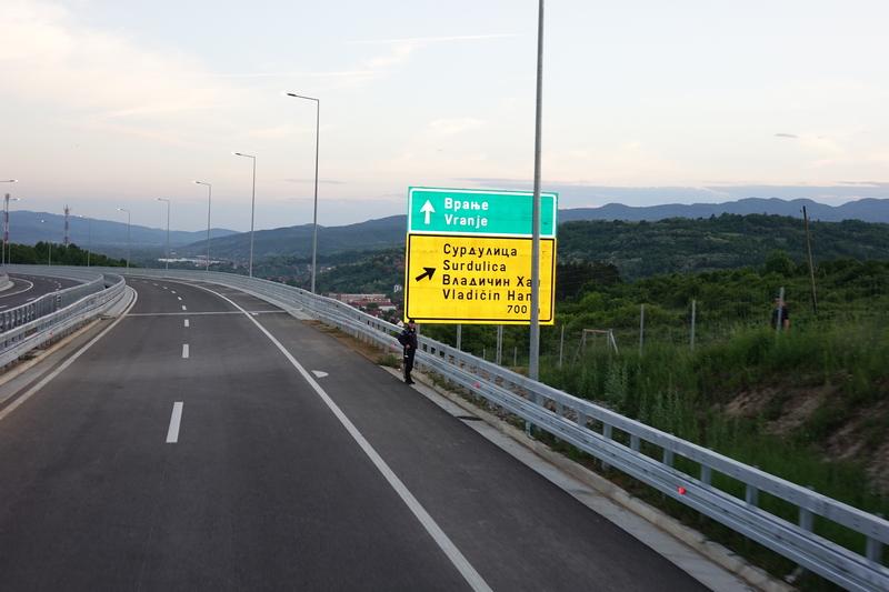 PUTEVI SRBIJE O načinima uključenja i isključenja sa i na autoput na jugu Srbije