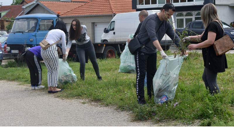 Dva leskovačka naselja očišćena tokom vikenda
