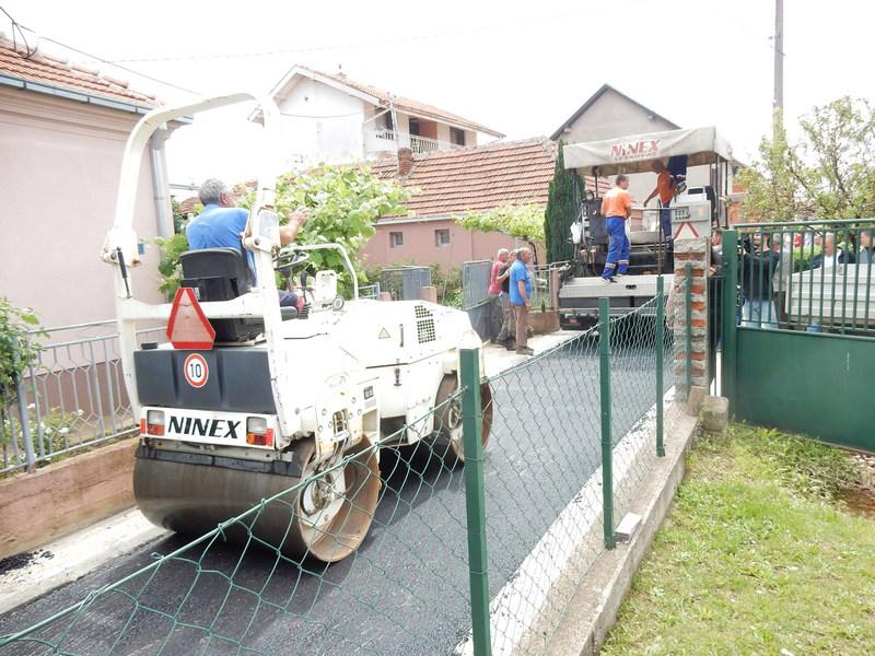 Za 6 godina u asfaltiranje ulica uloženo preko 5 miliona evra