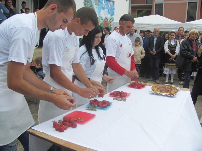 Dušanovo, selo jagodičnjaka