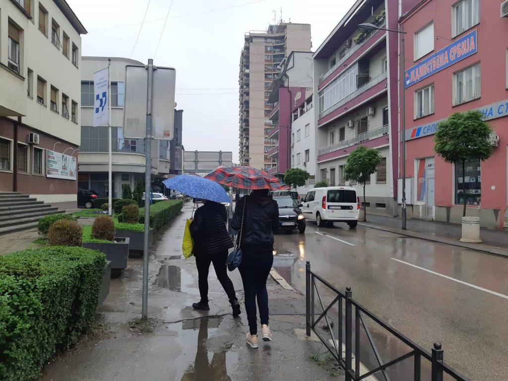 Obilne padavine sve do srede