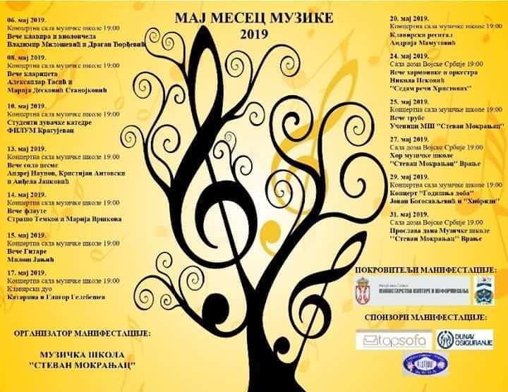 U narednih mesec dana Vranje prestonica klasične muzike