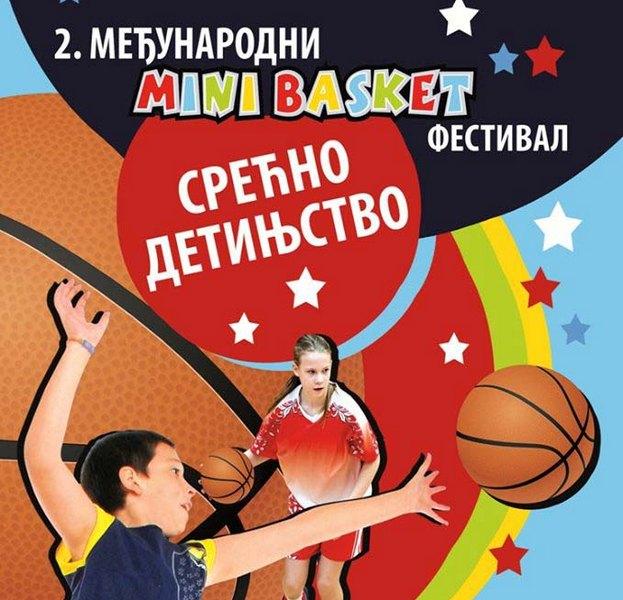 Međunarodni mini basket festival za vikend
