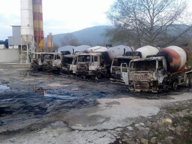Otkriven osumnjičeni za naručivanje paljenja devet kamiona porodične firme