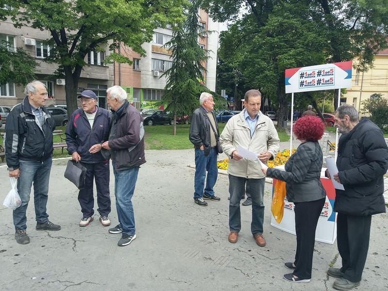 Podrška protestu penzionera u Beogradu, traže oduzete penzije