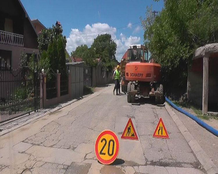 Počela zamena vodovodne mreže u ulici Berilovački put