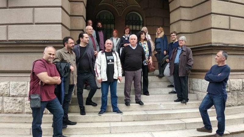 Protest profesora zbog otkaza kolegi