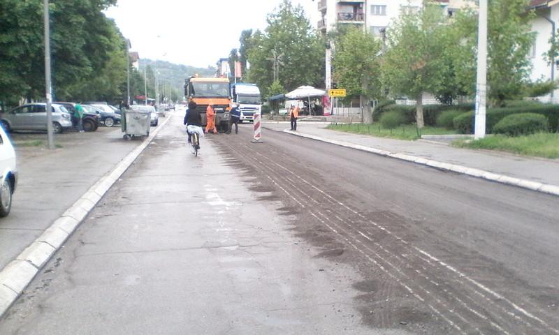 Radnička ulica u jednom delu dobija novi asfalt
