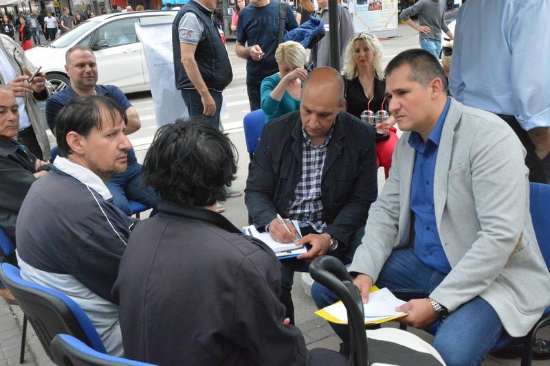 "Otvorena ""Niška zona slobode"", debata umesto protesta"