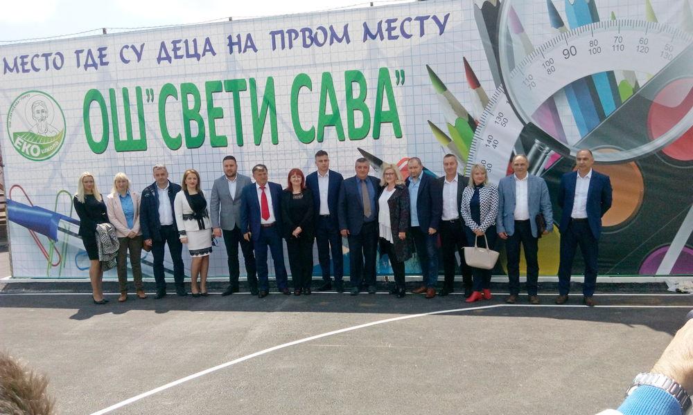"""Renovirana škola """"Sveti Sava"""" služiće kao model za izgled savremenih škola"""