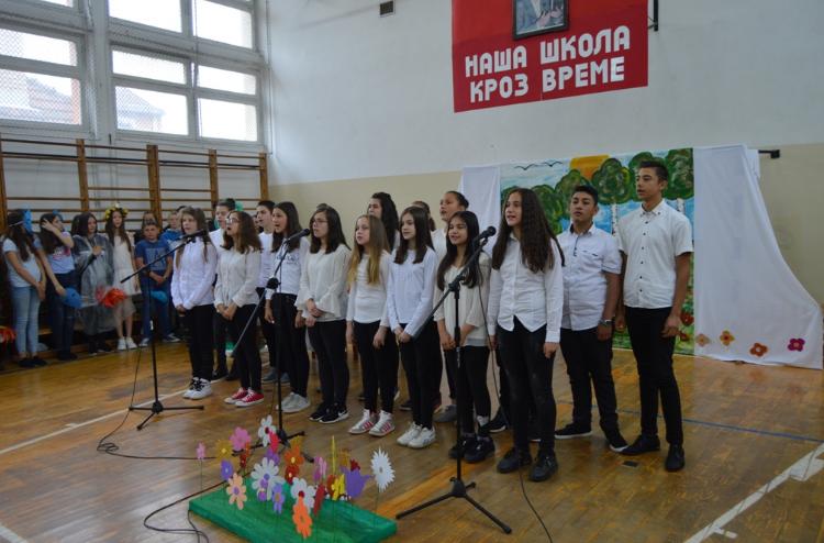 Osnovna škola Desanka Maksimović u Grdelici obeležila 141. rođendan