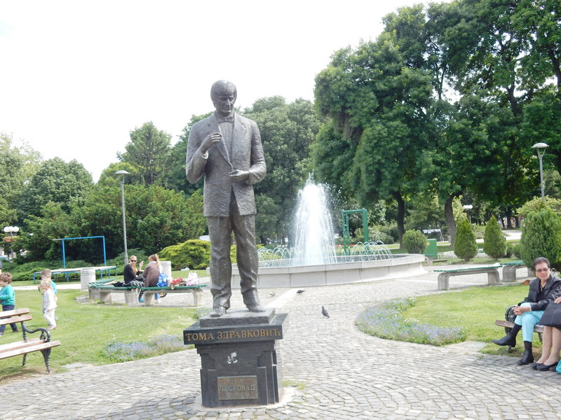 Odlučeno, spomenik Tomi Zdravkoviću premešta se sa trga na kej