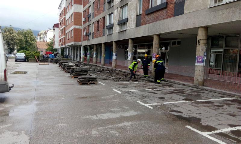 Počelo uređenje ulice Branka Radičevića