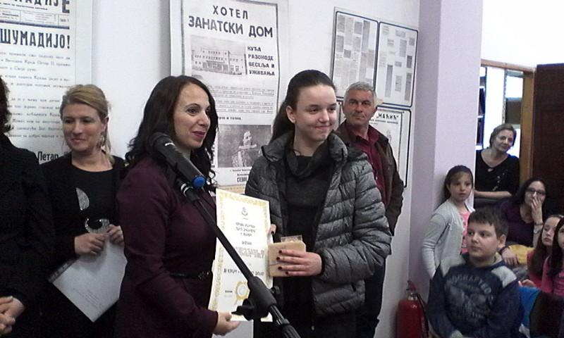 """Nagrade pobednicima na literarnom konkursu """"Sloboda kao izvor sreće"""""""