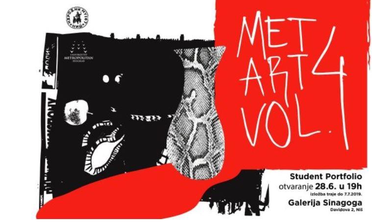 """Izložba Univerziteta Metropolitan u Nišu """"Met Art Vol. 4"""""""