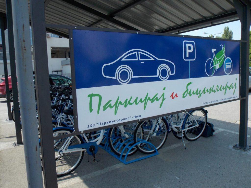 Parkiraj auto, iznajmi bicikl