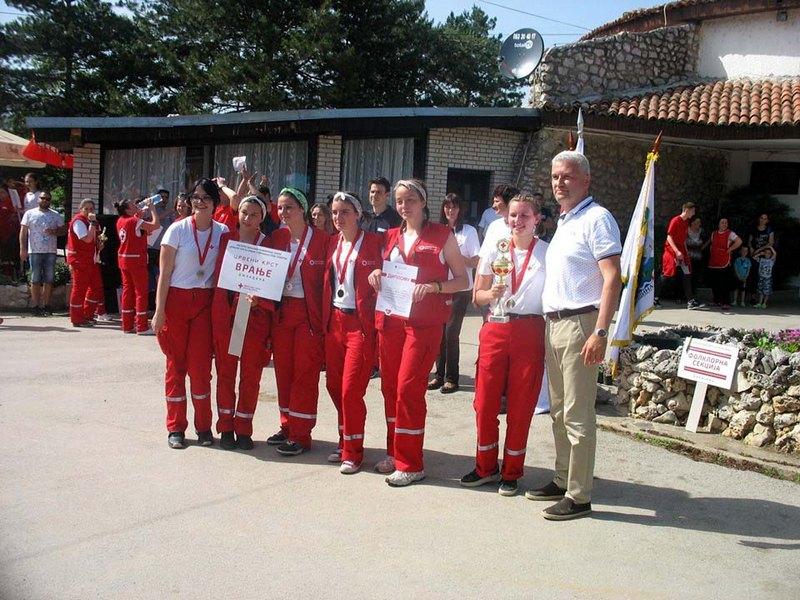 Ekipe Crvenog krsta iz Vranja uspešne u Merošini