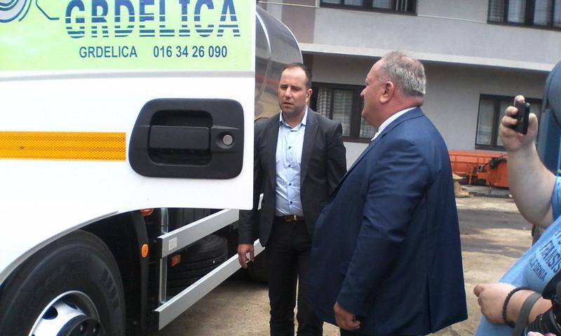 Grdelica dobila novu cisternu, direktoru održana lekcija