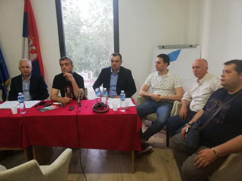 Pokret slobodnih građana u Leskovcu počinje sa prikupljanjem potpisa za izlazak na predstojeće izbore