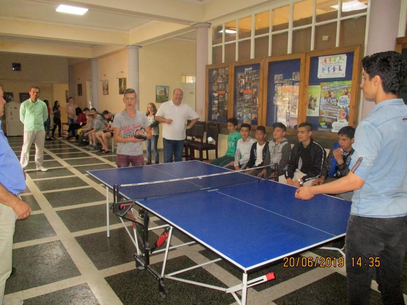 Druženje učenika Mlekarske škole i migranata