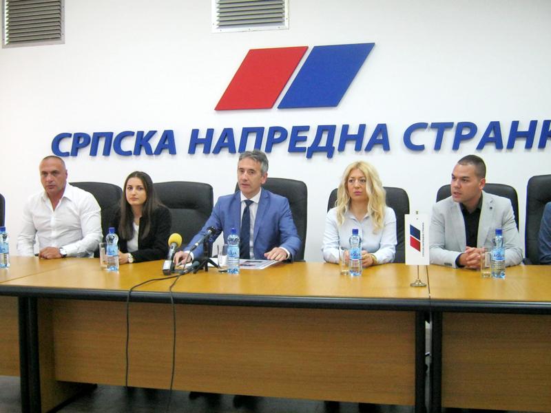 SNS: Tri godine vladavine naprednjka u Vranju