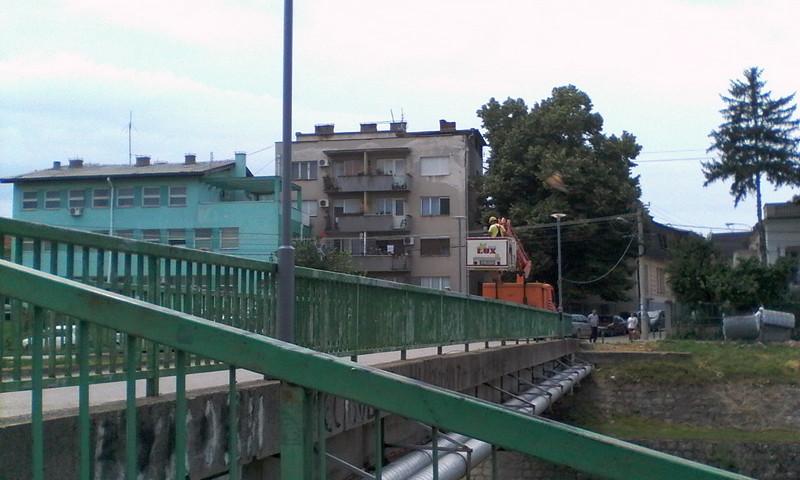 Večeras će ZABLISTATI most na Veternici