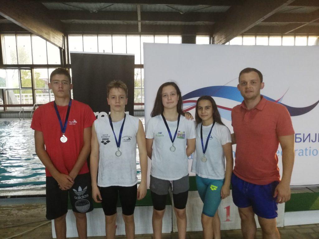 Leskovčki plivači se sa Državnog prvenstva vratili sa šest medalja